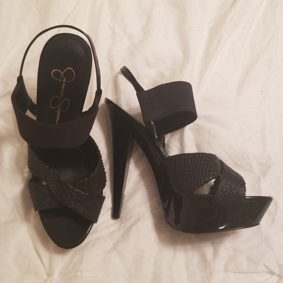 Jessica Simpson Shoes - Jessica Simpson Genm Heels 7.5